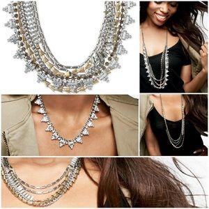"""NWOT Stella & Dot """"Sutton"""" 5-way Necklace"""